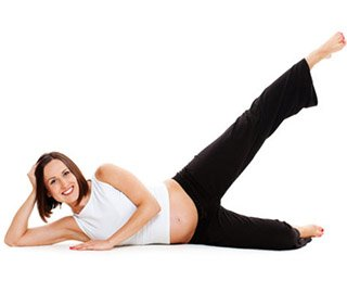 Pilates Mat Exercise - Side Stretch