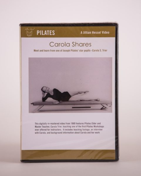 Pilates DVD - Carola