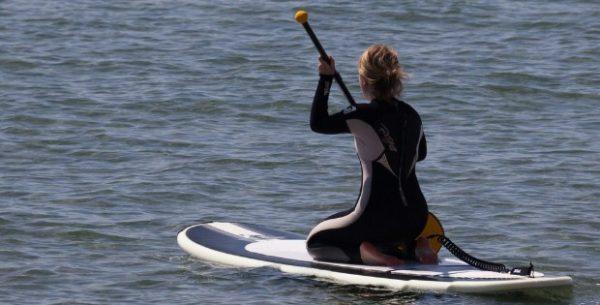 Paddleboard Pilates