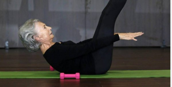 never too old for pilates