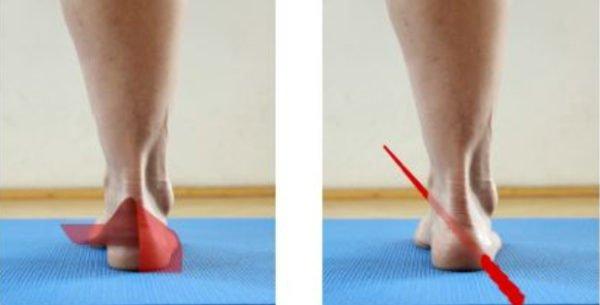 pilates and feet