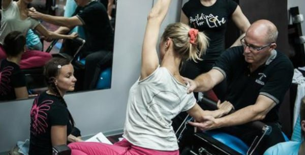 Brent Anderson teaching Pilates