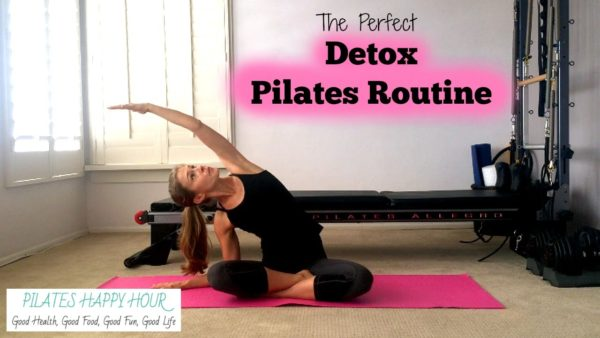 (Video) Get Ready for the Holidays With Pilates Exercises for Detox!