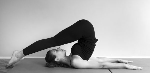 Pilates Mat Exercise - roll over