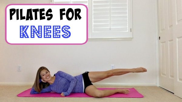 (Video) Pilates for Knee Pain!