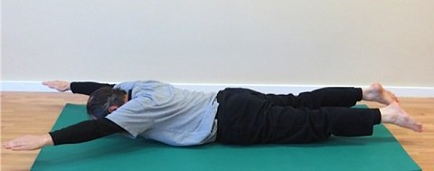 Pilates Mat Exercise - Swimming