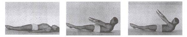 Joseph Pilates demonstrating the 100